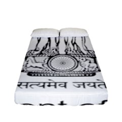 Seal Of Indian State Of Mizoram Fitted Sheet (full/ Double Size) by abbeyz71