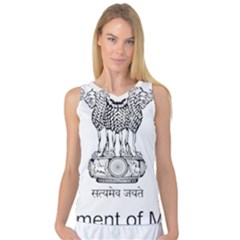 Seal Of Indian State Of Mizoram Women s Basketball Tank Top by abbeyz71