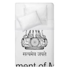 Seal Of Indian State Of Mizoram Duvet Cover (single Size)