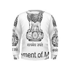 Seal Of Indian State Of Mizoram Kids  Sweatshirt by abbeyz71