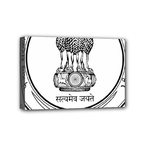 Seal Of Indian State Of Punjab Mini Canvas 6  X 4  by abbeyz71