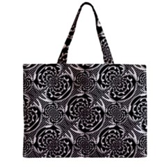Metallic Mesh Pattern Mini Tote Bag by linceazul