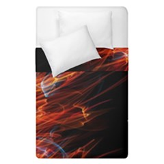 Fire Duvet Cover Double Side (single Size) by Valentinaart