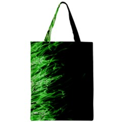 Fire Zipper Classic Tote Bag by Valentinaart
