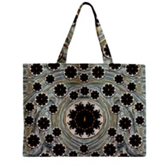 Wood In The Soft Fire Galaxy Pop Art Mini Tote Bag by pepitasart