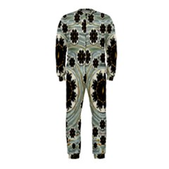 Wood In The Soft Fire Galaxy Pop Art Onepiece Jumpsuit (kids) by pepitasart
