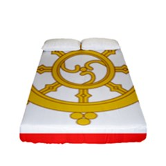 Flag Of Sikkim, 1967 1975 Fitted Sheet (full/ Double Size) by abbeyz71