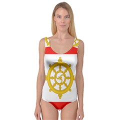 Flag Of Sikkim, 1967-1975 Princess Tank Leotard  by abbeyz71