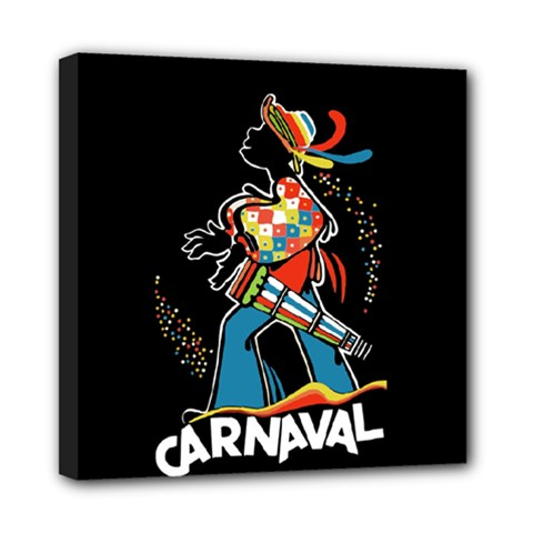 Carnaval  Mini Canvas 8  X 8  by Valentinaart
