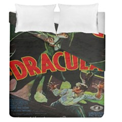 Dracula Duvet Cover Double Side (queen Size) by Valentinaart