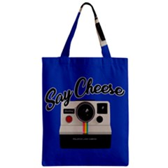 Say Cheese Classic Tote Bag by Valentinaart