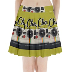 Say Cheese Pleated Mini Skirt