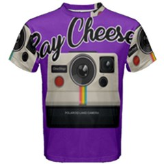 Say Cheese Men s Cotton Tee