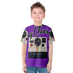 Say Cheese Kids  Cotton Tee