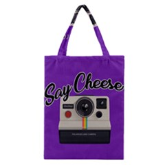 Say Cheese Classic Tote Bag