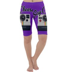 Say Cheese Cropped Leggings