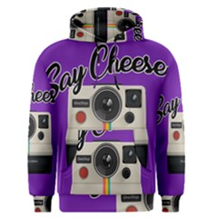 Say Cheese Men s Pullover Hoodie