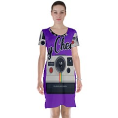 Say Cheese Short Sleeve Nightdress