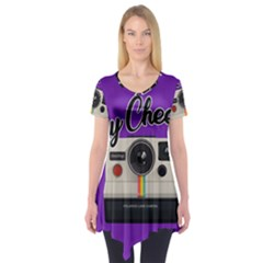 Say Cheese Short Sleeve Tunic