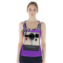 Say Cheese Racer Back Sports Top
