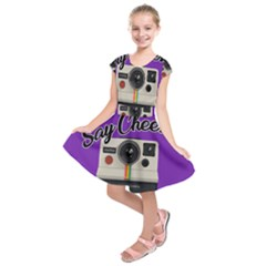 Say Cheese Kids  Short Sleeve Dress