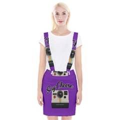 Say Cheese Braces Suspender Skirt