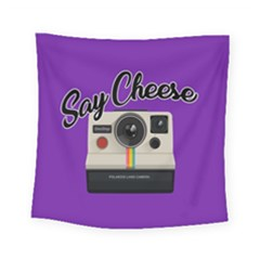 Say Cheese Square Tapestry (Small)