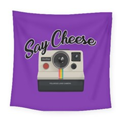 Say Cheese Square Tapestry (Large)
