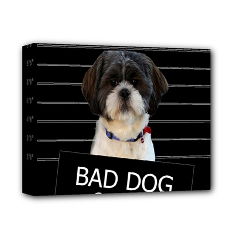 Bad Dog Deluxe Canvas 14  X 11