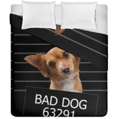 Bad Dog Duvet Cover Double Side (california King Size)