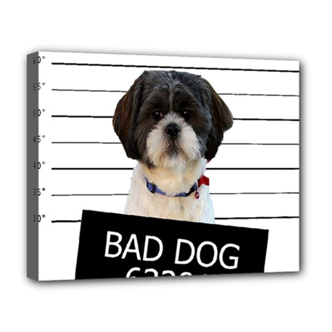 Bad Dog Deluxe Canvas 20  X 16