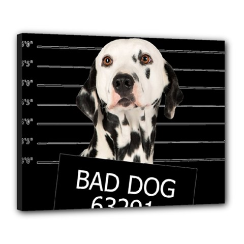 Bad Dog Canvas 20  X 16  by Valentinaart
