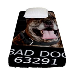 Bad Dog Fitted Sheet (single Size)