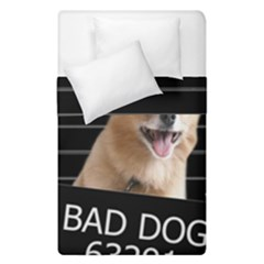 Bad Dog Duvet Cover Double Side (single Size)
