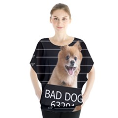 Bad Dog Blouse by Valentinaart