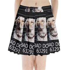 Bad Dog Pleated Mini Skirt