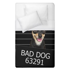 Bad Dog Duvet Cover (single Size) by Valentinaart