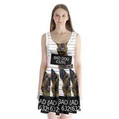 Bad Dog Split Back Mini Dress