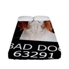 Bad Dog Fitted Sheet (full/ Double Size)