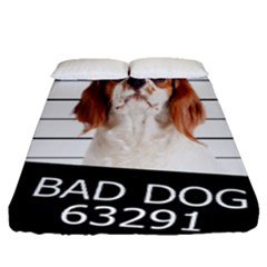 Bad Dog Fitted Sheet (queen Size)