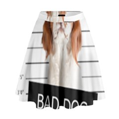 Bad Dog High Waist Skirt