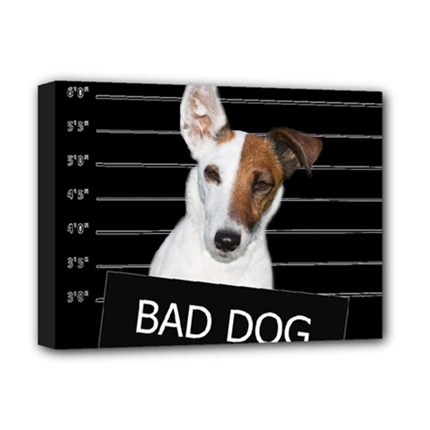Bad Dog Deluxe Canvas 16  X 12