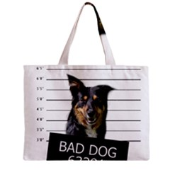 Bad Dog Mini Tote Bag by Valentinaart