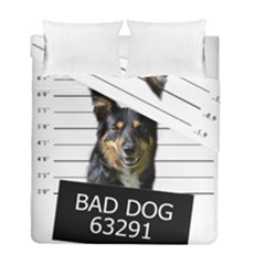 Bad Dog Duvet Cover Double Side (full/ Double Size)