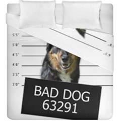 Bad Dog Duvet Cover Double Side (king Size)