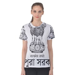 Seal Of Indian State Of Tripura Women s Cotton Tee by abbeyz71