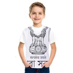 Seal Of Indian State Of Tripura Kids  Sportswear by abbeyz71