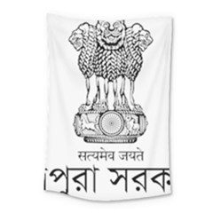 Seal Of Indian State Of Tripura Small Tapestry by abbeyz71