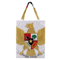 National Emblem Of Indonesia  Classic Tote Bag by abbeyz71