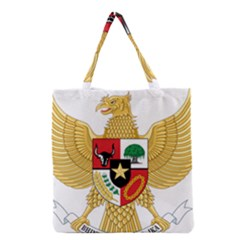 National Emblem Of Indonesia  Grocery Tote Bag by abbeyz71